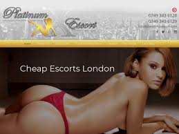 Find cheap escort service by reputed escort agency in London